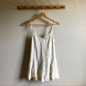 AEO Lace Trim Dress